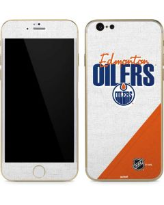 Edmonton Oilers Script iPhone 6/6s Skin