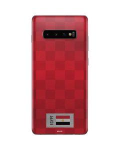Egypt Soccer Flag Galaxy S10 Plus Skin