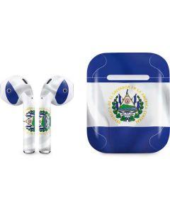 El Salvador Flag Apple AirPods Skin