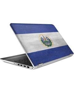 El Salvador Flag Distressed HP Pavilion Skin