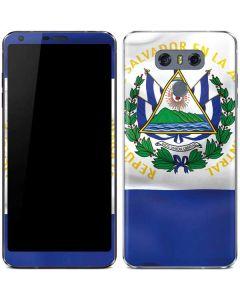 El Salvador Flag LG G6 Skin