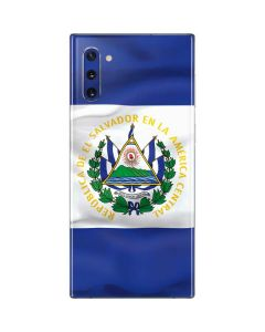 El Salvador Flag Galaxy Note 10 Skin