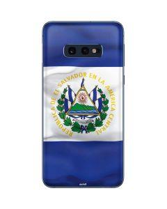 El Salvador Flag Galaxy S10e Skin