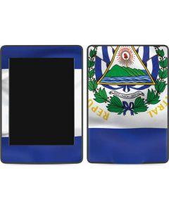 El Salvador Flag Amazon Kindle Skin