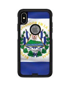 El Salvador Flag Otterbox Commuter iPhone Skin
