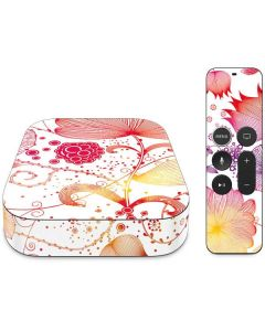 Elegant Flowers Apple TV Skin