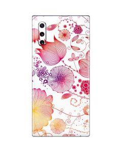 Elegant Flowers Galaxy Note 10 Skin