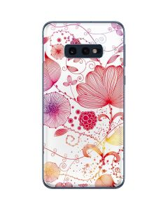 Elegant Flowers Galaxy S10e Skin