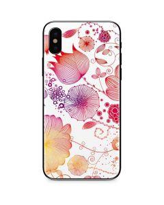 Elegant Flowers iPhone XS Max Skin