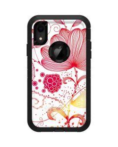 Elegant Flowers Otterbox Defender iPhone Skin