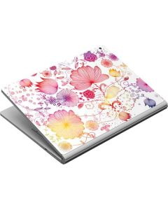 Elegant Flowers Surface Book Skin