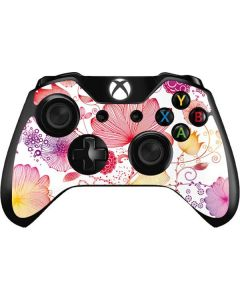 Elegant Flowers Xbox One Controller Skin
