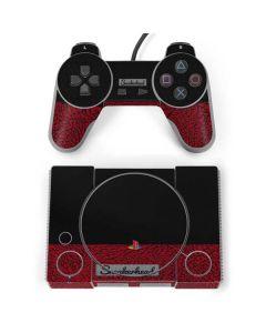 Elephant Print Red Sneakerhead PlayStation Classic Bundle Skin