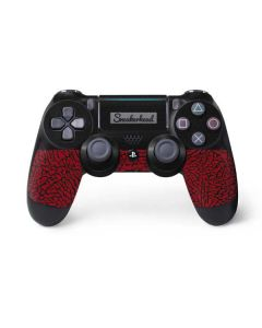 Elephant Print Red Sneakerhead PS4 Pro/Slim Controller Skin