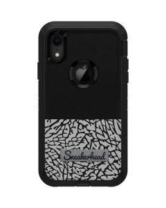 Elephant Print Sneakerhead Black Otterbox Defender iPhone Skin