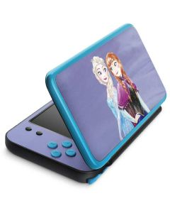 Elsa and Anna Sisters 2DS XL (2017) Skin