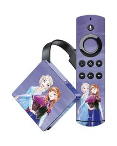 Elsa and Anna Sisters Amazon Fire TV Skin