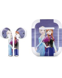 Elsa and Anna Sisters Apple AirPods 2 Skin