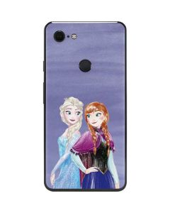 Elsa and Anna Sisters Google Pixel 3 XL Skin