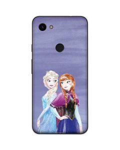 Elsa and Anna Sisters Google Pixel 3a Skin