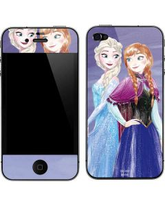 Elsa and Anna Sisters iPhone 4&4s Skin