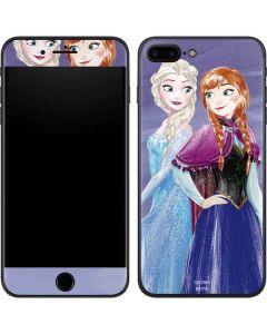 Elsa and Anna Sisters iPhone 7 Plus Skin