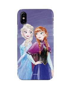 Elsa and Anna Sisters iPhone XS Max Lite Case