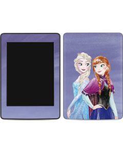 Elsa and Anna Sisters Amazon Kindle Skin