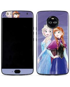 Elsa and Anna Sisters Moto X4 Skin