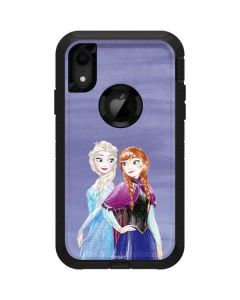 Elsa and Anna Sisters Otterbox Defender iPhone Skin