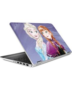 Elsa and Anna Sisters HP Pavilion Skin