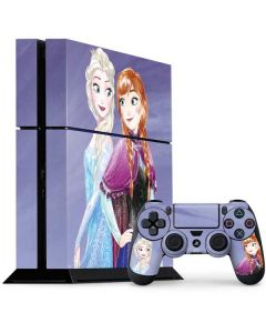 Elsa and Anna Sisters PS4 Console and Controller Bundle Skin