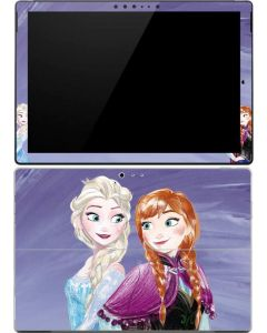 Elsa and Anna Sisters Surface Pro 4 Skin