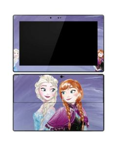 Elsa and Anna Sisters Surface Pro Tablet Skin