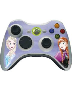 Elsa and Anna Sisters Xbox 360 Wireless Controller Skin