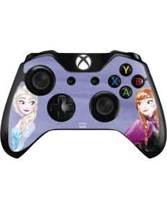 Elsa and Anna Sisters Xbox One Controller Skin