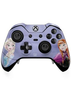 Elsa and Anna Sisters Xbox One Elite Controller Skin