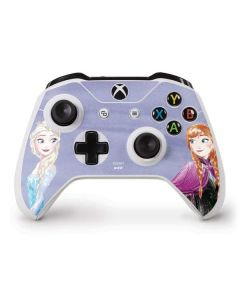 Elsa and Anna Sisters Xbox One S Controller Skin