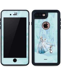 Elsa and Olaf iPhone 8 Plus Waterproof Case