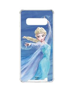 Elsa Icy Powers Galaxy S10 Plus Clear Case