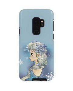 Elsa Side Portrait Galaxy S9 Plus Pro Case