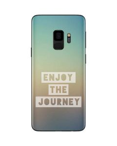 Enjoy The Journey Galaxy S9 Skin
