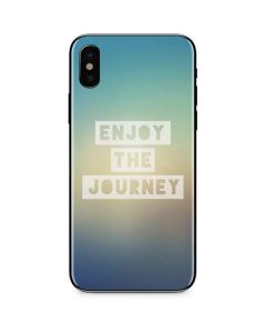 Enjoy The Journey iPhone X Skin