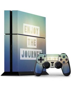 Enjoy The Journey PS4 Console and Controller Bundle Skin