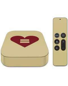 Equality Heart Apple TV Skin