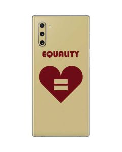 Equality Heart Galaxy Note 10 Skin