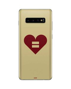 Equality Heart Galaxy S10 Plus Skin