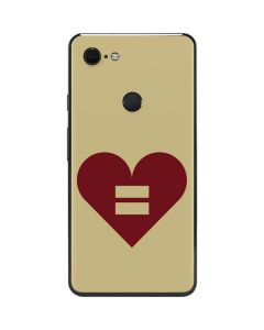 Equality Heart Google Pixel 3 XL Skin