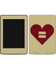 Equality Heart Amazon Kindle Skin