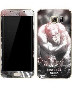 Eren Mikasa And Armin Galaxy S7 Edge Skin